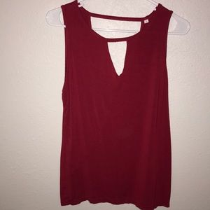 5/$15 Red tank top size small